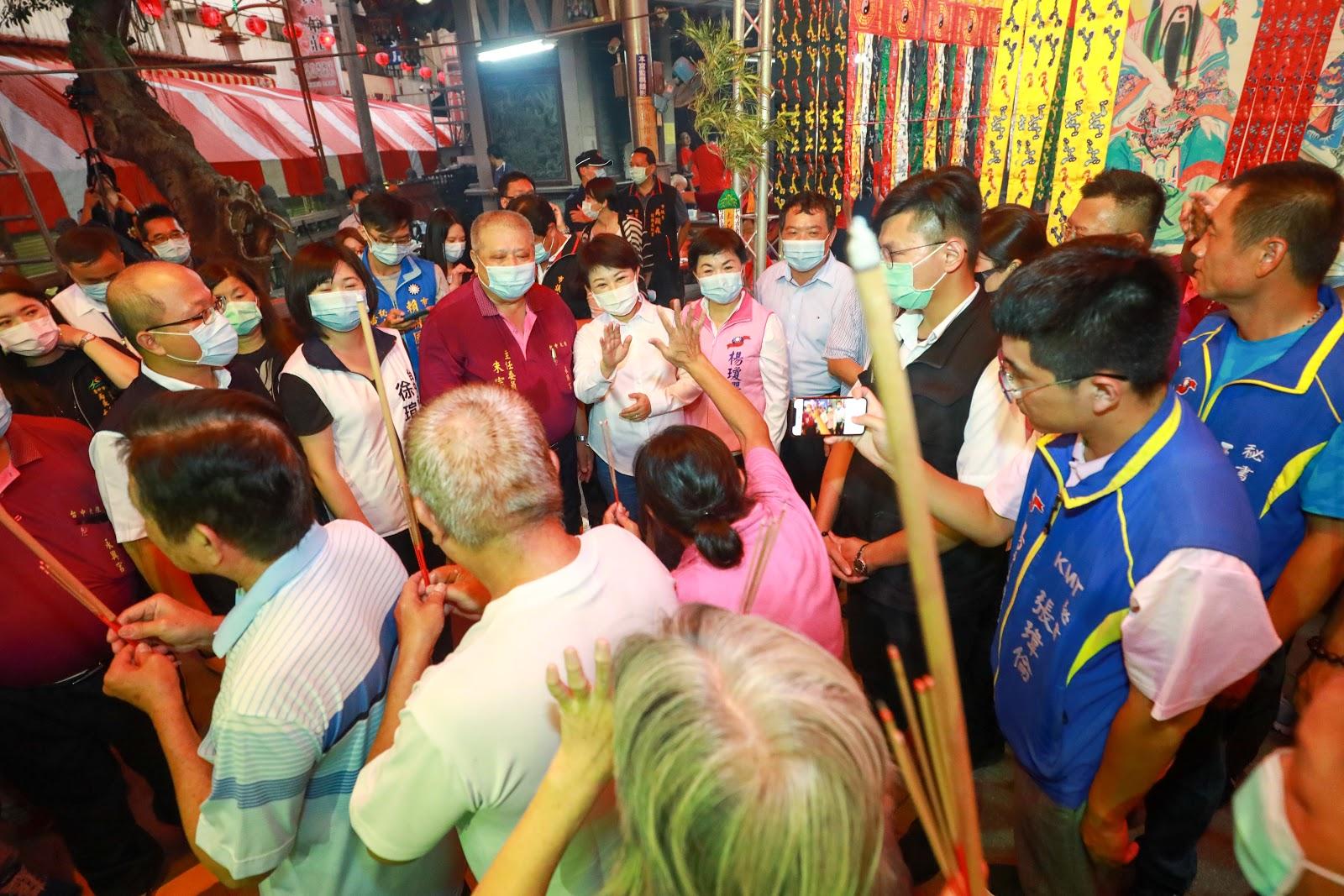 大雅永興宮普渡法會 盧市長祈求市民平安幸福