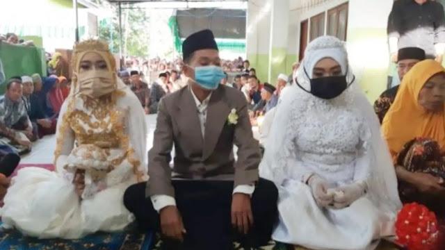 Viral Video Pria Nikahi dua Wanita Sekaligus dengan Mahar Rp 4 Juta