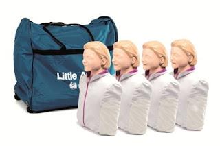 Manekin Laerdal Little Anne Paket 4 Orang
