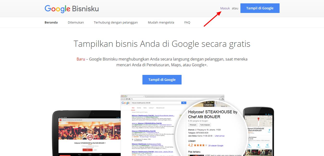 cara menghapus akun google bisnisku