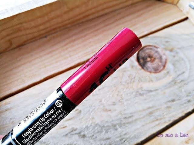 Labiales 16H Lip Colour Long Lasting  Dermacol maquillaje labios lipstick belleza makeup