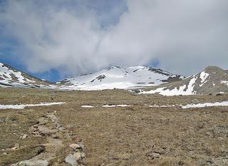 Mt. Massive's South Slopes route