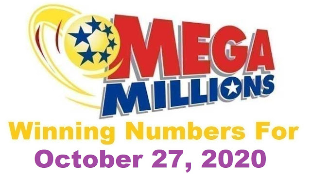 Mega Millions Winning Numbers for Tuesday, October 27, 2020