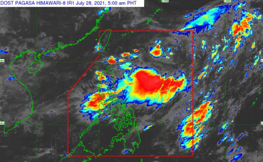 Satellite image of Southwest Monsoon July 28