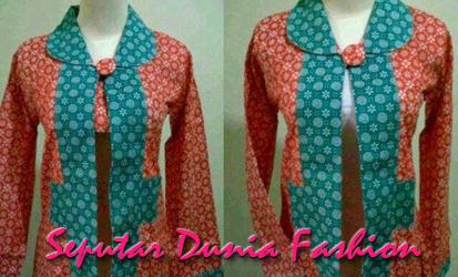 Batik Mungkin Artikel Trend Model Baju Batik Wanita Terbaru