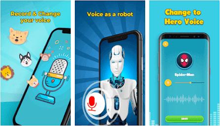 Aplikasi Voice Changer - Super Voice