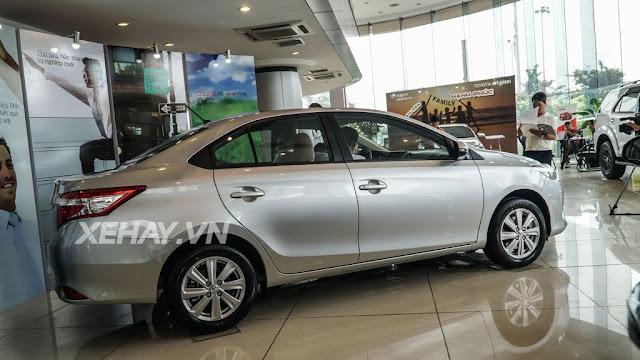 vios 15e cvt 2 - Cận cảnh Toyota Vios 1.5E CVT mới ra mắt Việt Nam