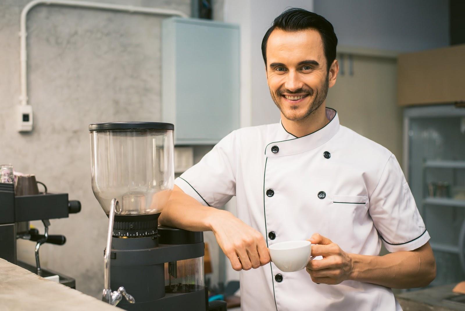 modern chefs wear