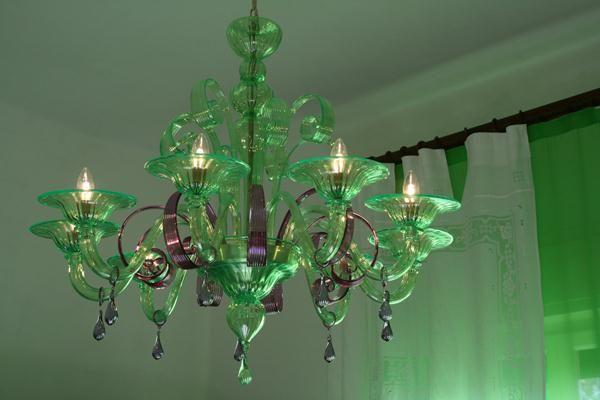 lampadario-di-murano-verde-e-viola-periodo-liberty