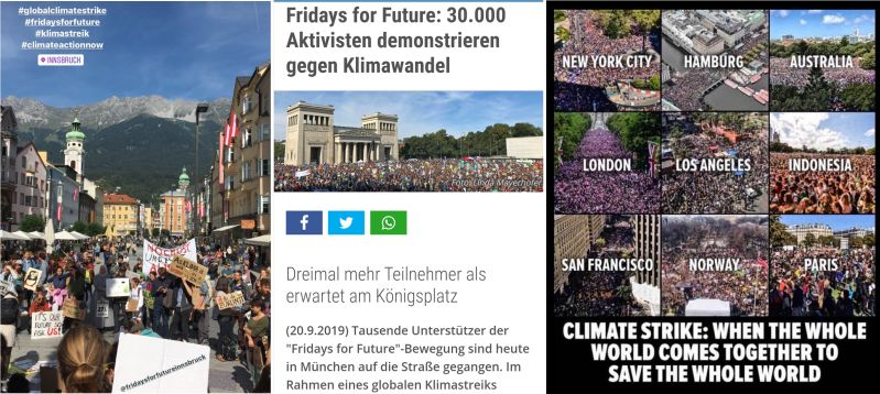 Fridays for future - weltweit