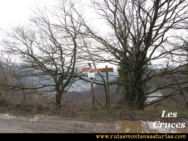 Pico Ranero: Les Cruces