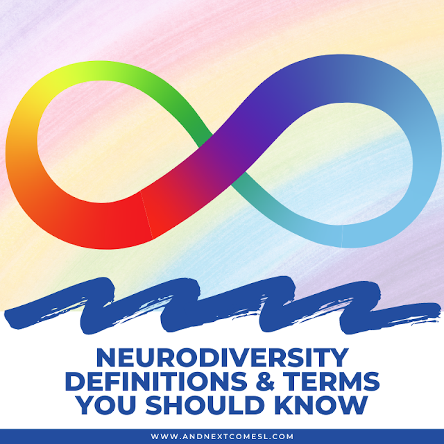 Definition of neurodiversity, neurodivergent, neurodiverse, and neurotypical