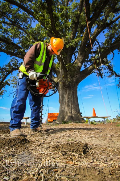 Kyle Spradley Photography Blog Mcbaine Bur Oak Work Day