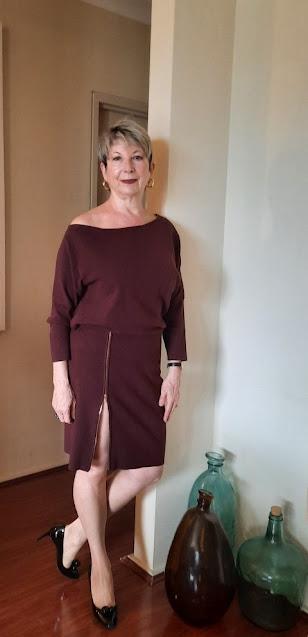 Reiss Cecilia of-shoulder dress