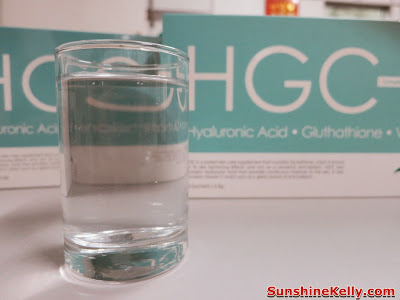 HGC, V-Gen, anti aging supplement, Hyaluronic Acid, Gluthathione, Vitamin C, collagen