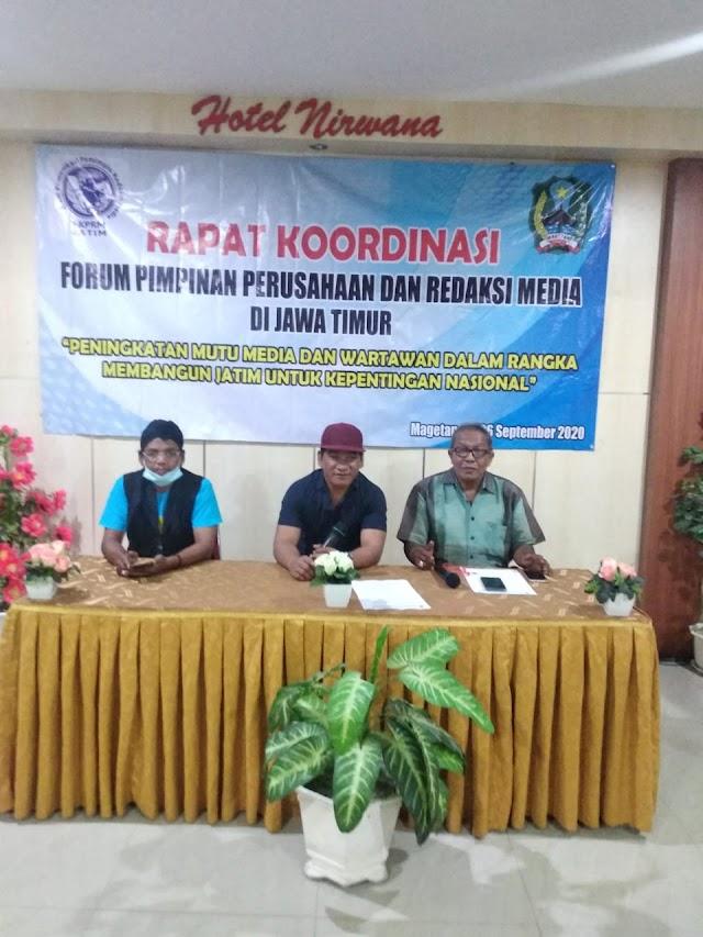 45 Media Dari 38 Kab/Kota Di Jatim Tergabung FKPRM Tanggapi Surat DP (2-bersambung)