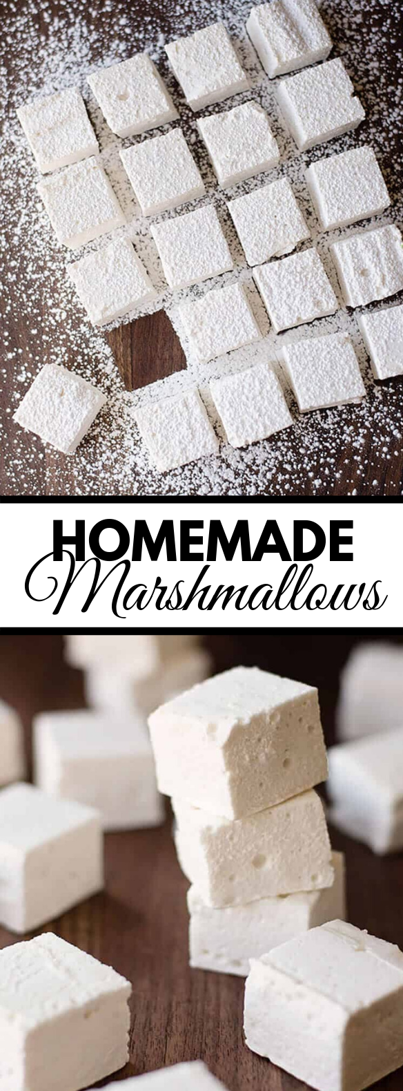 HOMEMADE MARSHMALLOWS #desserts #easy
