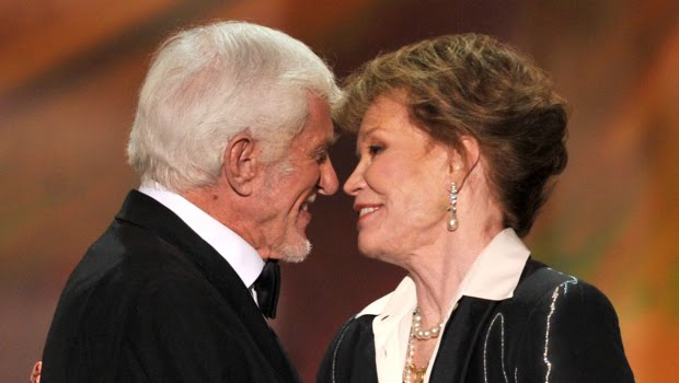 Dick Van Dyke and Mary at the SAG Awards in 2013