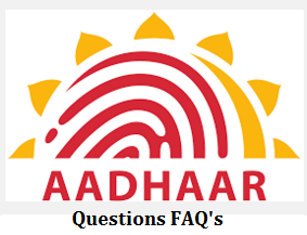 FAQ's on Aadhaar Card
