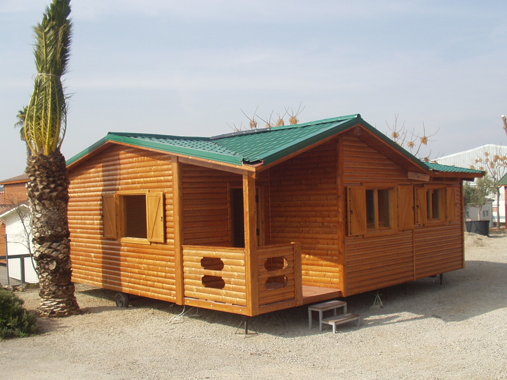 Apuntes revista digital de arquitectura casas de madera proyectos ecologicos - Casas moviles segunda mano ...