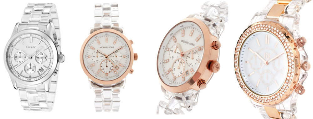 Michael Kors Rose Gold With Diamonds Watch