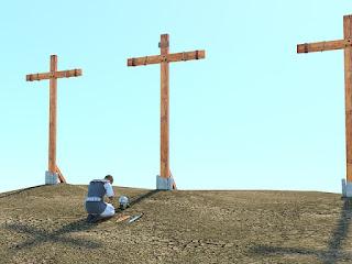 Salib adalah bukti nyata kasih Yesus kepada manusia