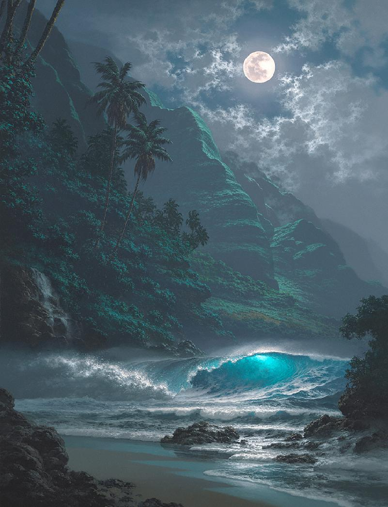 night sea - Artist Roy Gonzalez Tabora