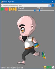 Imaseq Player - Create Gif And Play Sprites Screenshot 3
