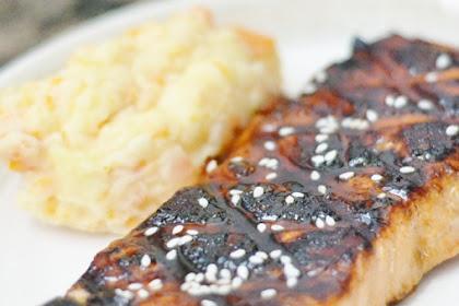 Toasted Sesame Salmon