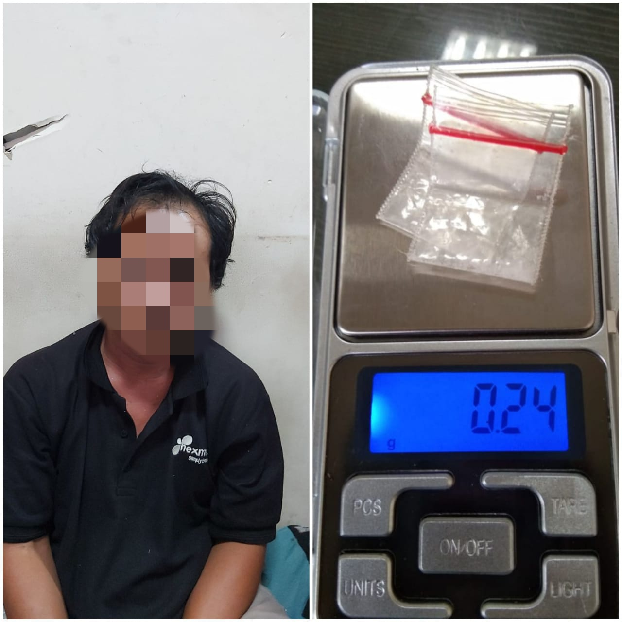 Gunakan Narkoba, IS Diamankan Satresnarkoba Polresta Tangerang