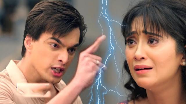Big Twist : Naira confronts Kartik over wrong step in Yeh Rishta Kya Kehlata Hai