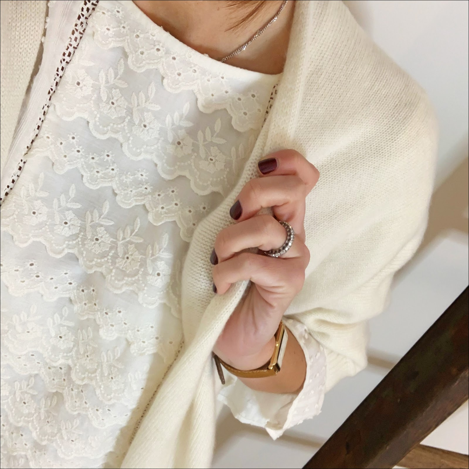 my midlife fashion, italy in cashmere cream white pure cashmere duster cardigan, zara embroidered blouse, j crew toothpick jeans, zara suede western block heel ankle boots