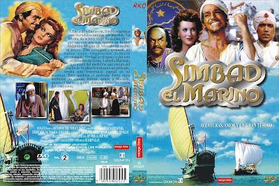 Carátula dvd: Simbad el marino (1947) Sinbad the Sailor