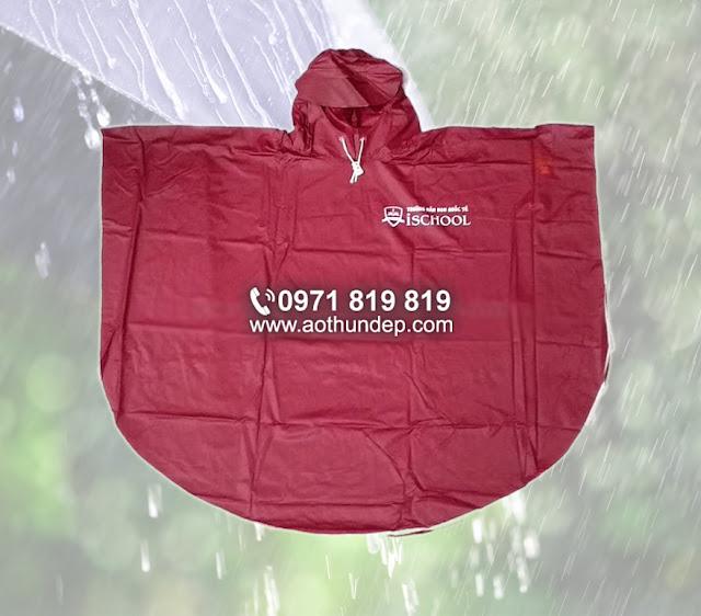 Áo mưa bộ trẻ em;