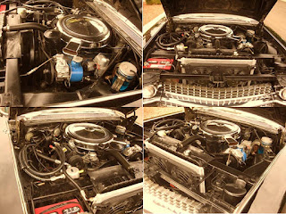 1959 Cadillac Fleetwood Brougham Limousine Engine
