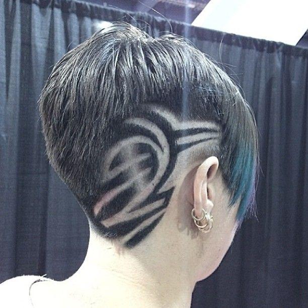 tribal design hair - haircut