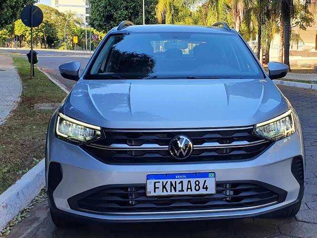 Volkswagen Nivus Comfortline - frente