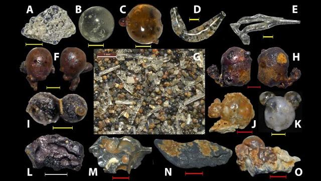 Hiroshimaites: Hiroshima Bomb Created Asteroid Impact-Like Glass
