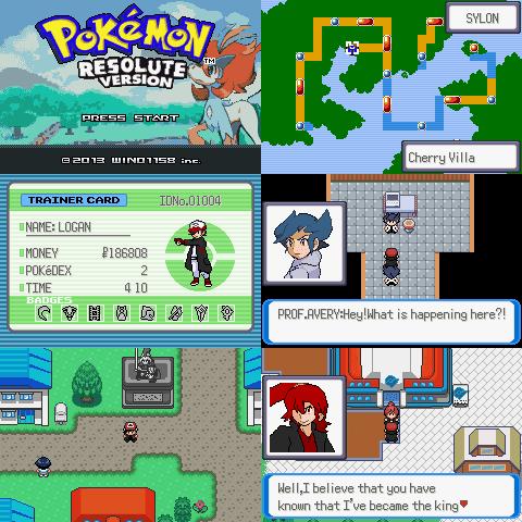 Pokemon Resolute Version Screenshot 1