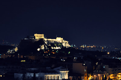 Athen, Akropolis by night