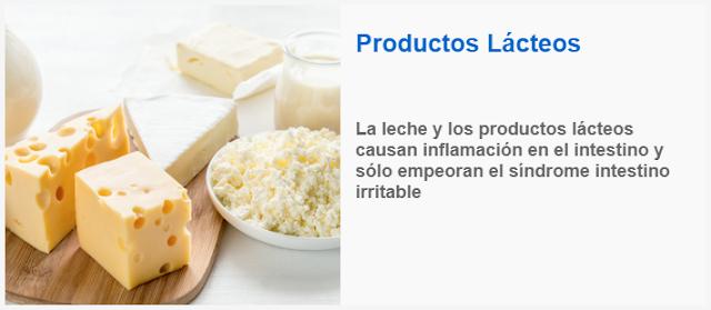 La leche y los productos lacteos causan inflamacion en el intestino
