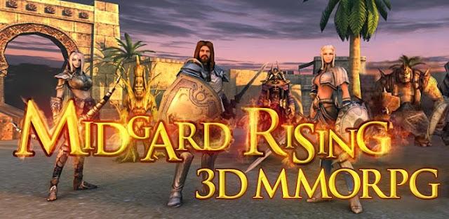 Game: Midgard Rising 3D MMORPG APK + DATA Direct Link