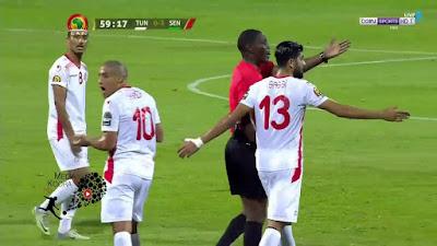 مباراة تونس والسنغال 14-07-2019 نصف نهائي كأس الأمم الأفريقية