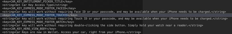 iPhone 9 支援指紋辨識、快速交通卡和車鑰匙功能