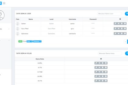 Download aplikasi Absensi Siswa online Gratis berbasis web