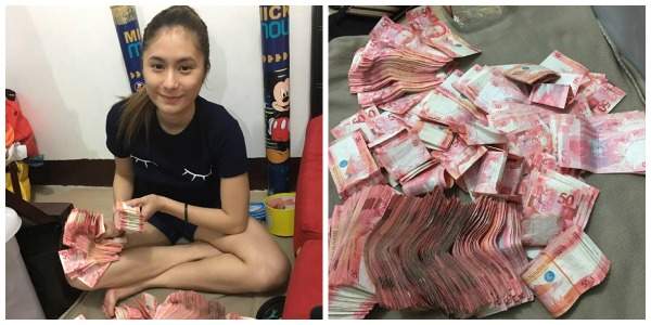 Netizen Yona Abella saves P 40,000 50-money saving challenge