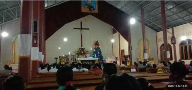 Umat Katolik di Manggarai Meninggal Saat Mengikuti Misa Malam Natal