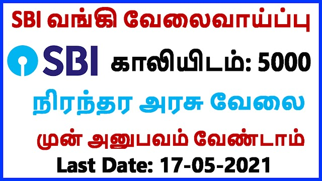 SBI Recruitment 2021 | State Bank Jobs 2021 | State Bank of India Recruitment 2021 | SBI Jobs 2021 | State Bank of India Jobs 2021
