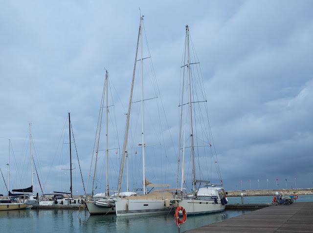 Marina di Ragusa - Maramea all'ormeggio invernale ©Valeriaderiso