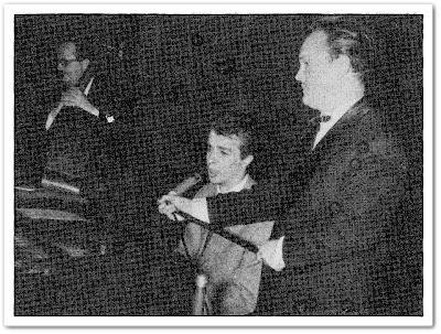 Karlo Metikoš, prvi nastup, 1958